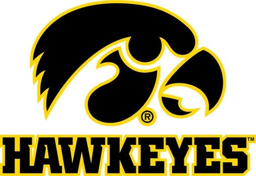 University-of-Iowa-Hawkeyes-Logo-Mascot-Monday